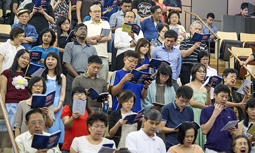 Sing a song for God's saints