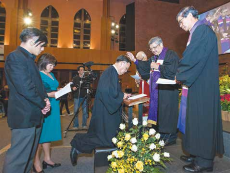 Rev Dr Wee Boon Hup consecrated 5th Bishop