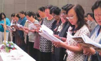 GC women encouraged to continue in outreach, prayer