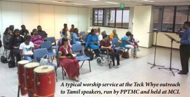 Outreach at Teck Whye: Fruitful collaboration between two churches
