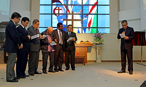 Ang Mo Kio Methodist Church Dedication: 'The building of the church continues'