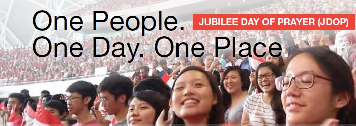 One People. One Day. One Place.