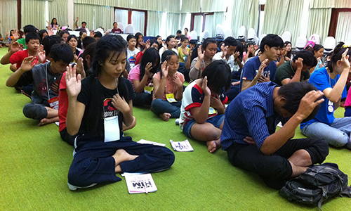 Grounding Thai youths for life-long faith