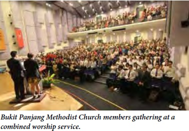 BPMC: A growing church maintaining its kampong spirit