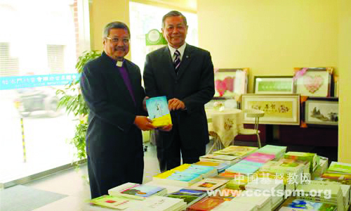 Bishop leads team to meet top church leaders in China