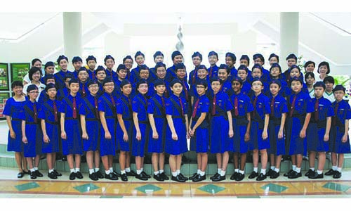 New Girls' Brigade company in SCGS