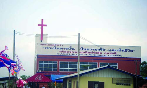 Dedication Service for  Rangsit Methodist Church in Bangkok