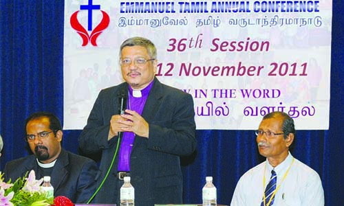 36th Sessions of Annual Conferences: November 2011