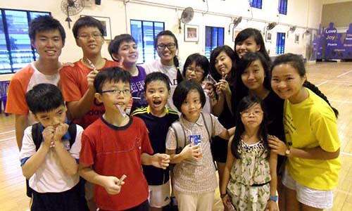 Christalite Methodist Chapel: Shining for Christ  in Geylang schools