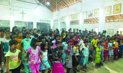 ETAC's fruitful mission trip to Jaffna: 40 villagers accept Christ
