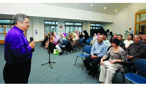 MUIS and mosque leaders visit Methodist Heritage Exhibition