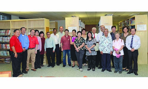Malaysian church archivists visit MCS