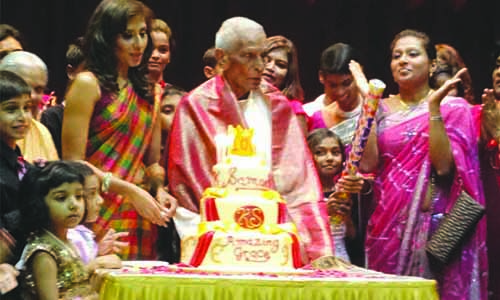 Sembawang Tamil MC member celebrates 100th birthday