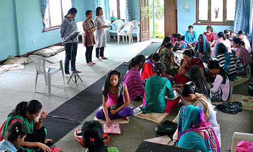 Building new centres to equip Nepal