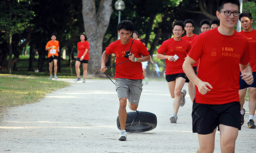 Rallying youths to take steps for a cause
