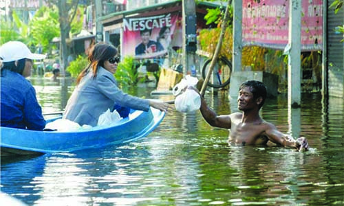 Thai, Cambodian floods: MMS swings into action