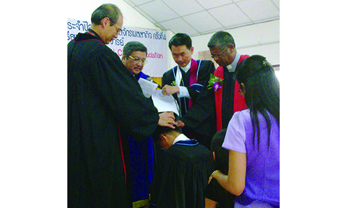Rev Henry Yeo ordained as Elder of The Methodist Church in Thailand