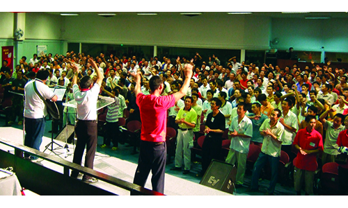 Thousands of China workers ministered by Fairfield MC