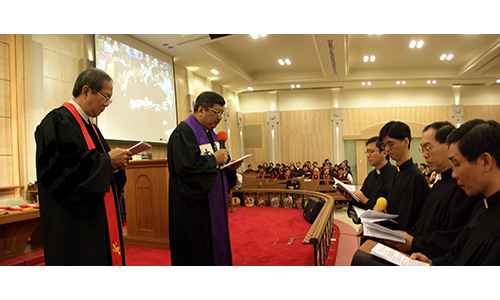Watch your life and doctrine closely, new Deacons and Elders told