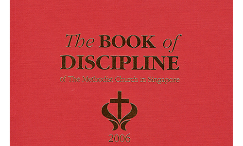 Book of Discipline 2006: Laymen and ministers should get a copy
