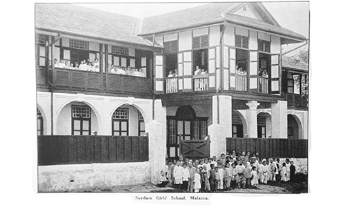 How Methodist Girls' School in Malacca was started