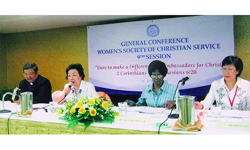 GC-WSCS TO HELP SET UP HOSTEL FOR CRISIS GIRLS