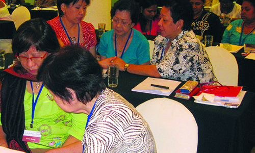 Use your talents for God's glory, WSCS leaders told