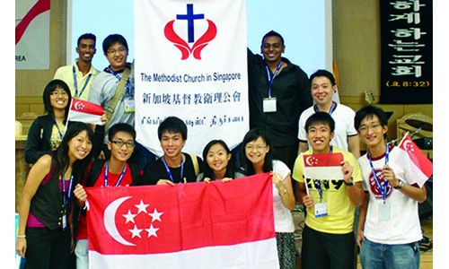 MCS youth team back from 'enriching' conference in Seoul