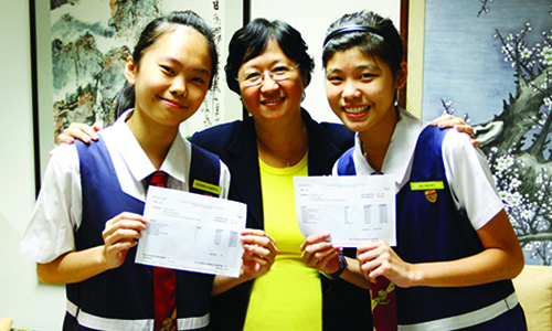 'N' Level: Four Paya Lebar MGS  students among Singapore's top