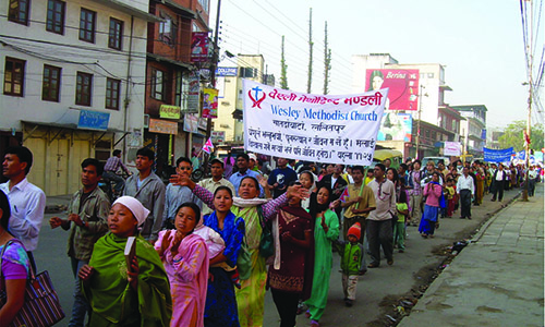 'Help build a Methodist Centre in Kathmandu'
