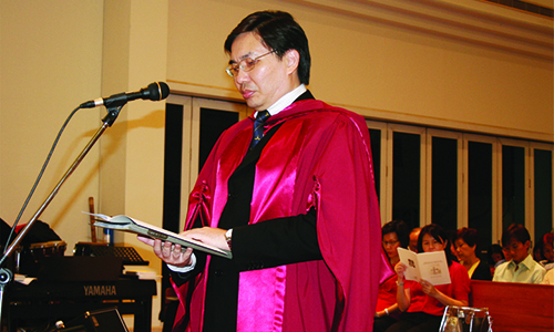 Roland Chia appointed Professor of Christian Doctrine