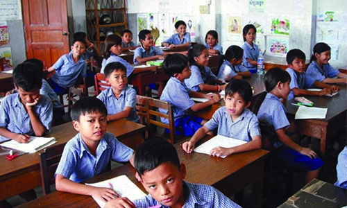 Methodist School of Cambodia  needs teachers and books
