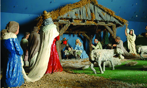 Church preserves Nativity built by German POWs