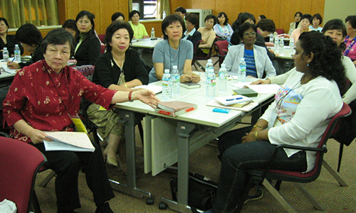 GC-WSCS team attends leadership training in Korea