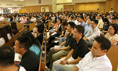 ANGLO-CHINESE SCHOOLS STAFF DEDICATION SERVICE 2006