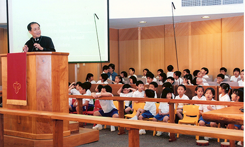 BRMC Kindergarten holds its own service