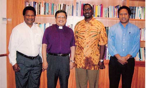 Zambian, PNG leaders call on Bishop