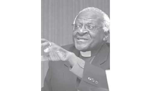 Church unity remains a dream of God: Desmond Tutu