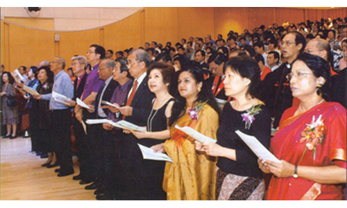 ALDERSGATE SERVICE 2003: Double joy celebration