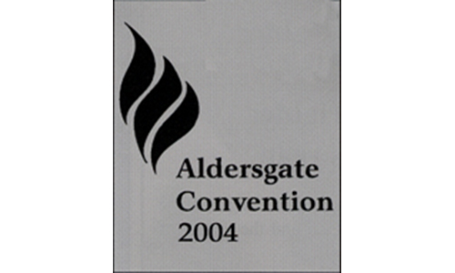 ALDERSGATE Convention 2004 will be held from May 20-24