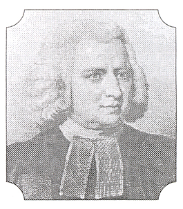 Charles Wesley: His hymns help to present the Gospel.