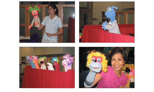 The day Puppet Igloo and friends win WSCS women's hearts