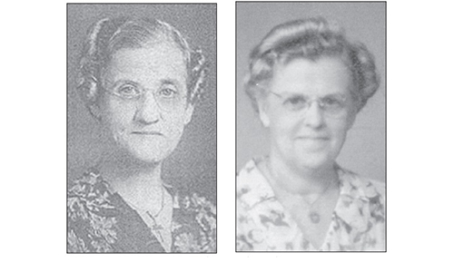 A tale of two sisters: Emma and Della Olson