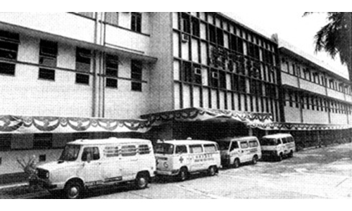 The early beginnings of Kwong Wai Shiu Hospital