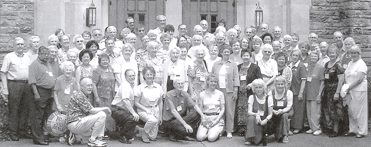 The Retired Missionaries' Reunion at the Scarritt-Bennett Center in Nashville, Tennessee.