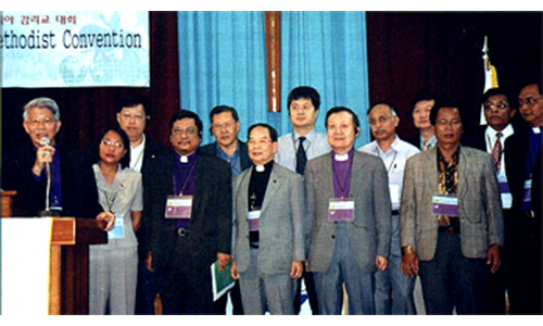 Applause greets formation of Asian Methodist Council