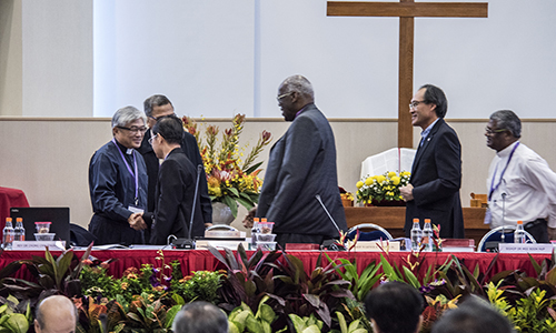Rev Dr Chong Chin Chung elected new Bishop