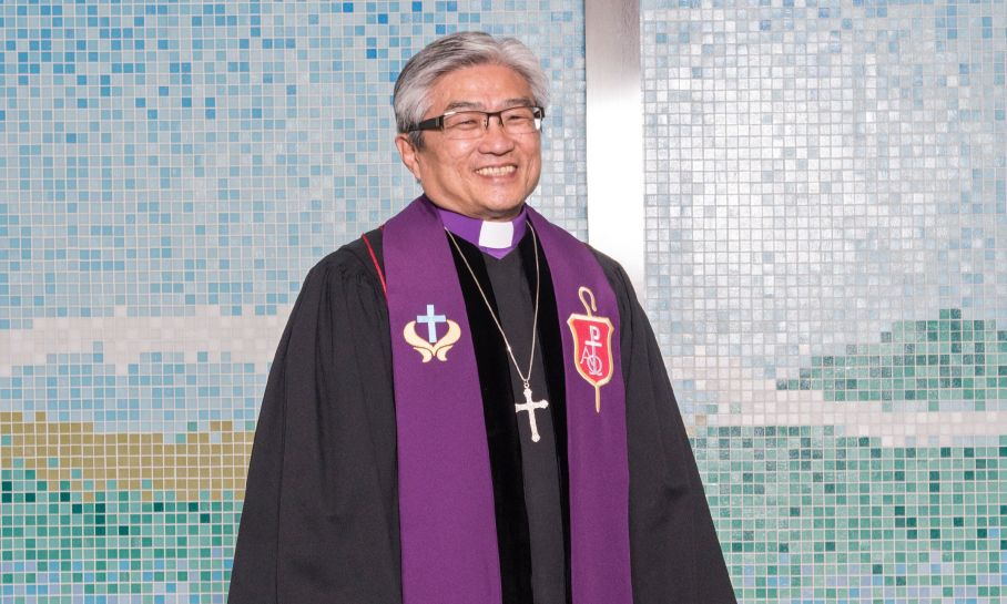 New Bishop: Let's grow in ministry, 'Together as one'