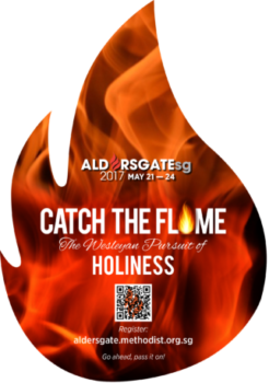 ALDERSGATE SG 2017  'Catch the Flame' and pass it on!