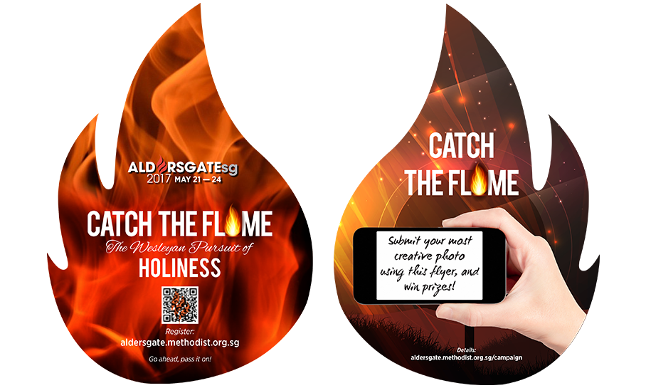 Catch the Flame' and pass it on!